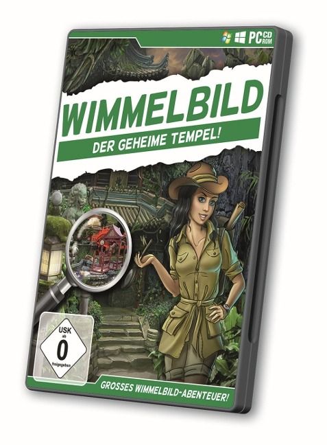 Wimmelbild - Der geheime Tempel (CD im DVD-Case) -