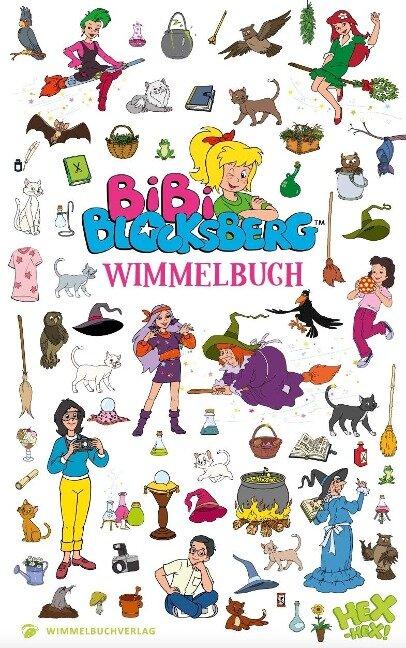 Bibi Blocksberg Wimmelbuch -
