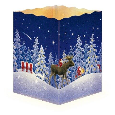 """Adventskalender """"Nordische Weihnacht"""" -"""