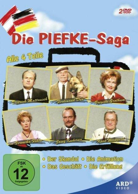 Die Piefke Saga - Felix Mitterer, Wilhelm Dieter Siebert
