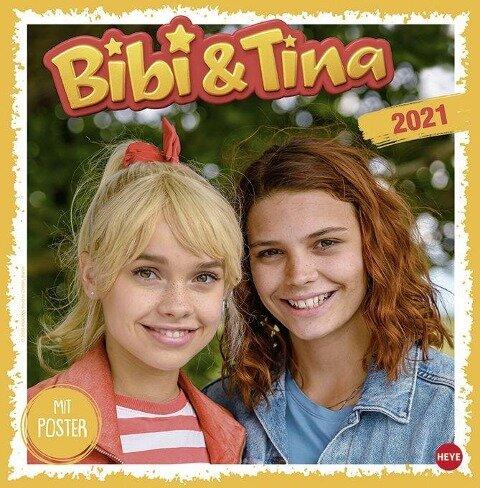 Bibi und Tina 2021. Die Serie Broschurkalender