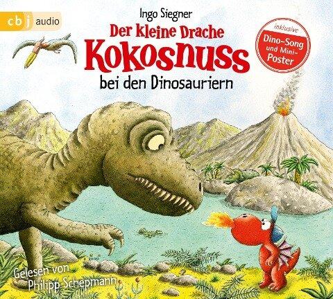 Der kleine Drache Kokosnuss 20 bei den Dinosauriern - Ingo Siegner