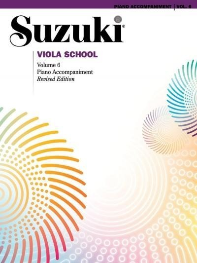 Suzuki Viola School, Vol 6: Piano Acc. - Alfred Music