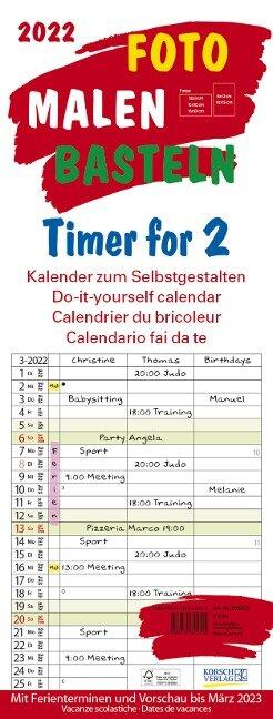 Foto-Malen-Basteln Timer for 2 2022 -