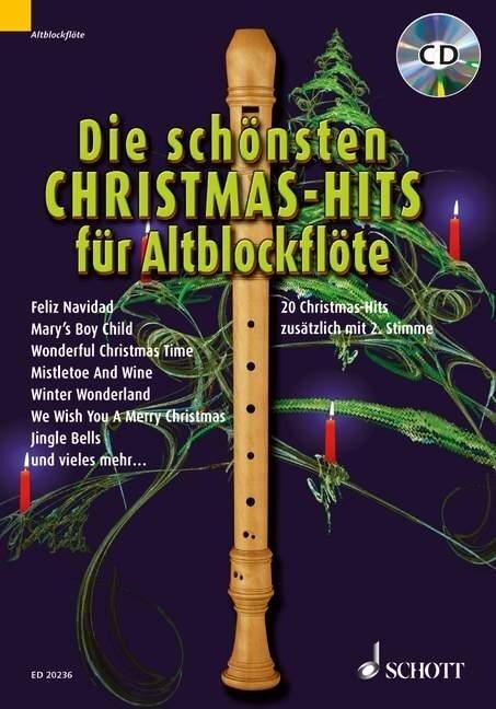 Die schönsten Christmas-Hits für Altblockflöte -