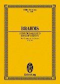 Schicksalslied - Johannes Brahms