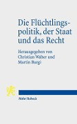 Die Flüchtlingspolitik, der Staat und das Recht -