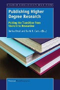 Publishing Higher Degree Research -