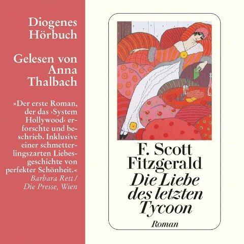 Die Liebe des letzten Tycoon - F. Scott Fitzgerald