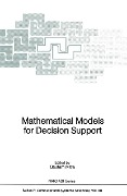 Mathematical Models for Decision Support -