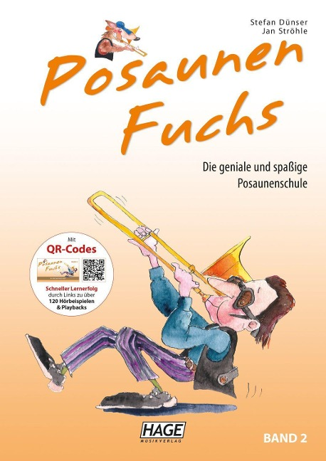 Posaunen Fuchs Band 2 mit CD - Stefan Dünser, Bernhard Kurzemann