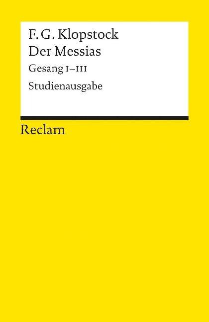 Der Messias - Friedrich Gottlieb Klopstock