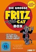 Die grosse Fritz the Cat Box - Ralph Bakshi, Robert Crumb, Fred Halliday, Eric Monte, Robert Taylor