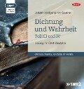 Dichtung und Wahrheit - Teil III und IV - Johann Wolfgang von Goethe