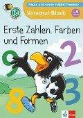 Paule und seine Fußballfreunde - Vorschul-Block - Erste Zahlen, Farben und Formen -