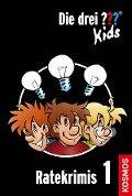 Die drei ??? Kids. Ratekrimis 1 (drei Fragezeichen Kids) - Ulf Blanck