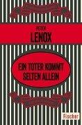 Ein Toter kommt selten allein - Peter Lenox