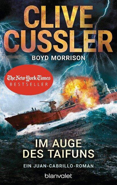 Im Auge des Taifuns - Clive Cussler, Boyd Morrison