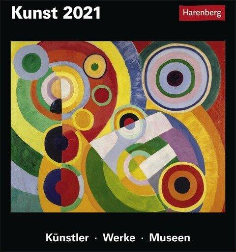 Kunst - Kalender 2021 - Gero Seelig, Maria Christina Zopff