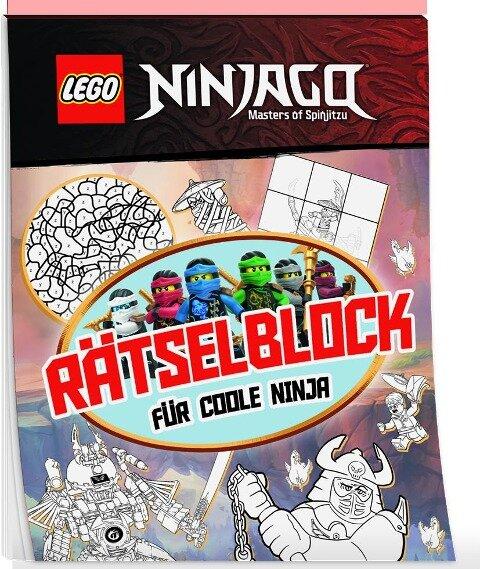 LEGO® NINJAGO® Rätselblock für coole Ninja -