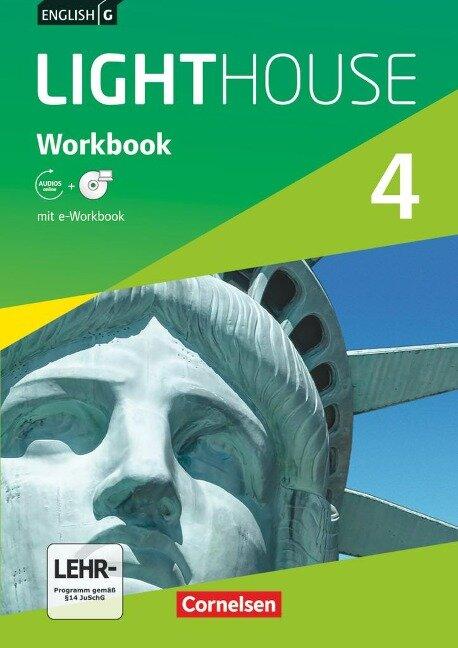 English G LIGHTHOUSE 4: 8. Schuljahr. Workbook mit e-Workbook und Audios online -