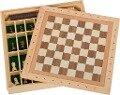 Spiele-Set Schach-Dame-Mühle -