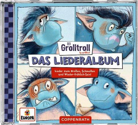 Der Grolltroll - Das Liederalbum - By Aprilkind, Barbara van den Speulhof