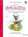 Der große Fridolin mit CD - Eine Schule für junge Gitarristen - Hans Joachim Teschner