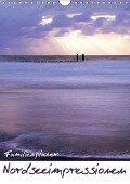 Nordseeimpressionen (Wandkalender 2018 DIN A4 hoch) - Lydia Weih