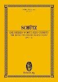 Die sieben Worte Jesu Christi - Heinrich Schütz