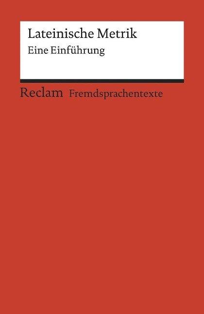 Lateinische Metrik - Stephan Flaucher