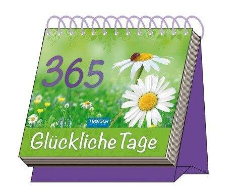 """Aufstellkalender """"365 Glückliche Tage"""" -"""