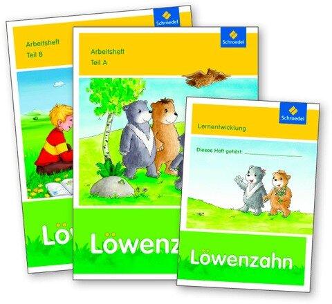 Löwenzahn Arbeitsheft A und B als Paket- Ausgabe 2015 -