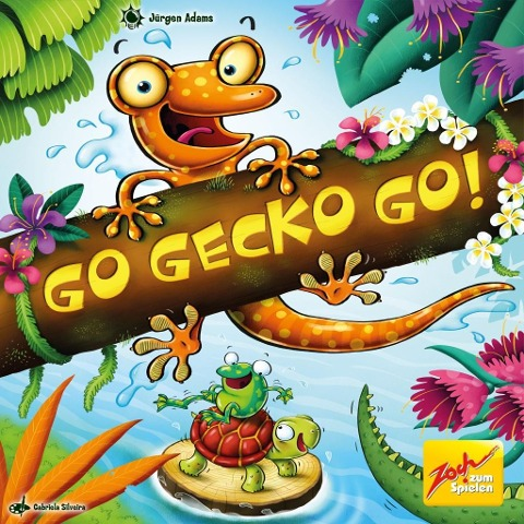 Go Gecko Go - Jürgen Adams
