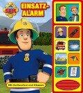 Feuerwehrmann Sam - Einsatzalarm,Klappen-Geräusche-Buch -