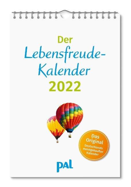 Der Lebensfreude-Kalender 2022 - Doris Wolf, Merkle Rolf, Maja Günther