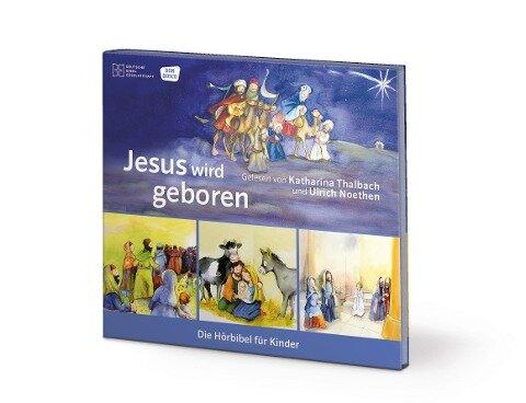 Jesus wird geboren - Rainer Oleak