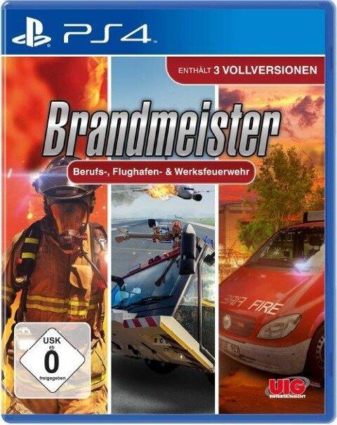 Brandmeister Berufs, Airport & Werksfeuerwehr. PlayStation PS4 -
