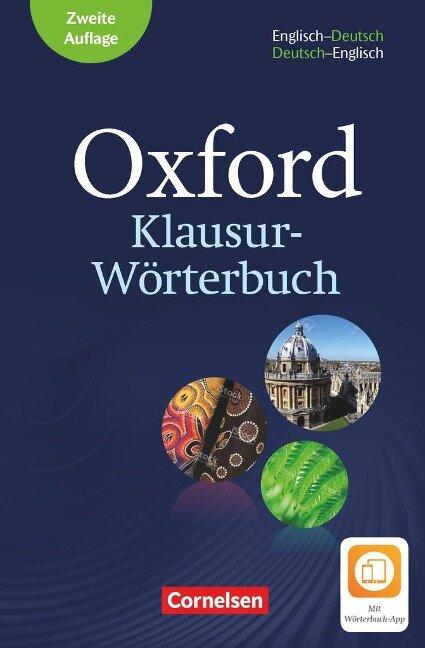 Oxford Klausur-Wörterbuch - Ausgabe 2018. B1-C1 - Englisch-Deutsch/Deutsch-Englisch -