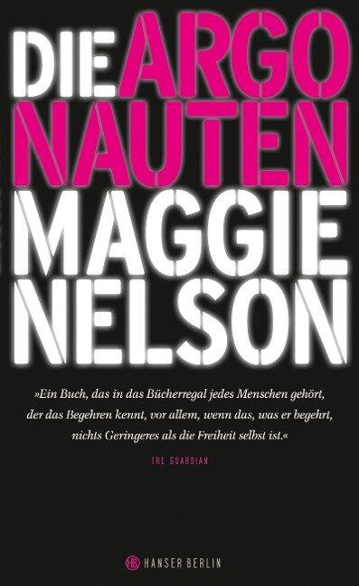 Die Argonauten - Maggie Nelson