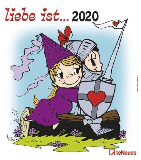 liebe ist... 2020 Wandkalender - Kim Casali