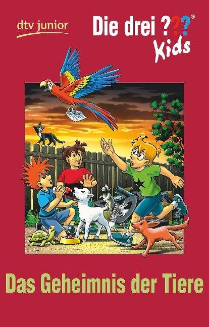 Die drei ??? Kids 53 - Geheimnis der Tiere (drei Fragezeichen) - Ulf Blanck