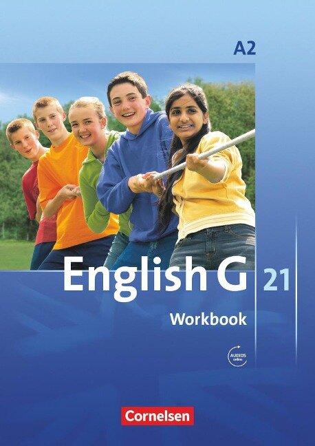 English G 21. Ausgabe A 2. Workbook mit Audios online -