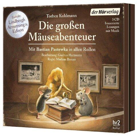 Die großen Mäuse-Abenteuer - Torben Kuhlmann