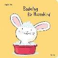 Badetag für Hasenkind - Jörg Mühle