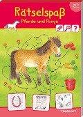 Rätselspaß Pferde & Ponys ab 6 Jahren -