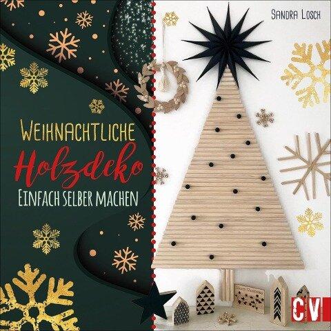 Weihnachtliche Holzdeko - Sandra Losch