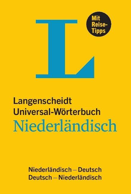 Langenscheidt Universal-Wörterbuch Niederländisch -