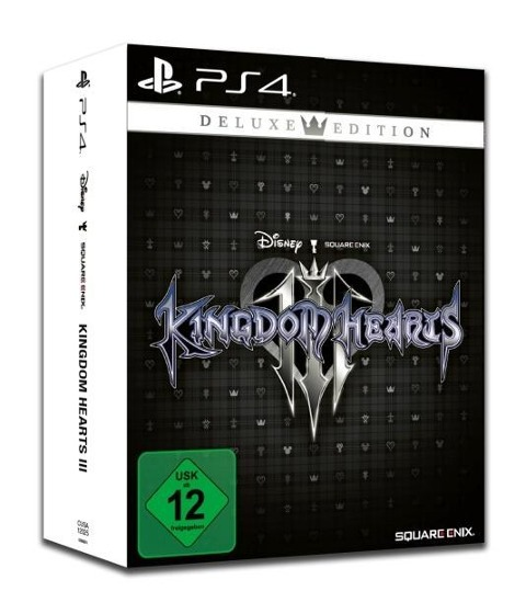 Kingdom Hearts III Deluxe Edition (PlayStation PS4) (USK) -