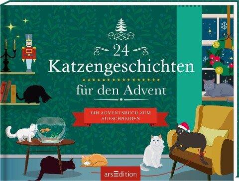 24 Katzengeschichten für den Advent -